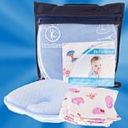 Ортомед Ортопедическая подушка + наволочка OrtoSleep Baby фото