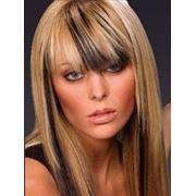 Бликующее мелирование волос фото