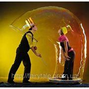 Шоу мыльных пузырей, Запорожье фото