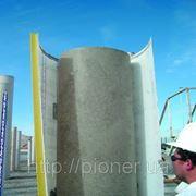 Опалубка картонная для круглых колонн фото