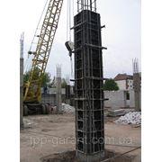 Пластиковая опалубка колонн фото