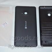 Крышка задняя черная для Microsoft Lumia 535 + ПЛЕНКА В ПОДАРОК 3127 фото