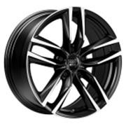 Диски 1000 Miglia MM1011 16х7,0 PCD:5x114,3 ET:42 DIA:67.1 цвет:Glossy Black-Polished фото