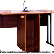 Изготовление мебели под заказ, Стол ученический химический с вертикальным коробом ШК 85-25 фото