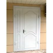 Изготовление металлических входных дверей фото