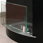 Защитное стекло для напольных каминов фото