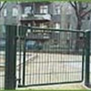 Ворота маятниковые (колебательные) фото