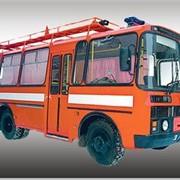 Автомобиль связи и освещения АСО-20 ПАЗ-32054 фото
