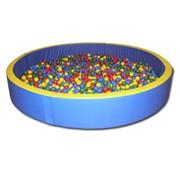 Круглый сухой бассейн-сборный Модель: ART134 фото