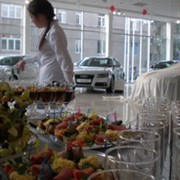 Услуги доставки обедов в офис,канапе фото
