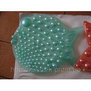 Рыбка ОРТО бирюза. Игрушка на присосках оптом фото