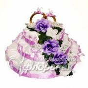 Торт с кольцами Сладкое счастье фото