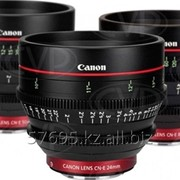 Canon Cinema Lens 24mm T1.5 L F/ 50mm T1.3 L F/ 85mm T1.3 L F комплект фото
