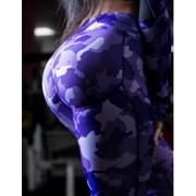 Леггинсы пуш-ап Bona Fide Arctic Military Purple, размер S фото