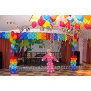 Праздничное оформление шарами в Алуште, Ялте и Симферополе. фото