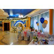 Свадебное оформление воздушными шарами в Алуште, Ялте и Симферополе! фото