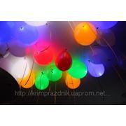 Светодиодные (светяшиеся) шарики, светодиодное светящееся сердце в Алуште, Ялте и Симферополе фото