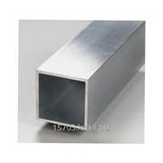 Труба алюминиевая квадратная, размер 10х10х0,5х6000 мм, артикул 11595 фото