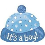 Шар с гелием шапочка«Это Мальчик!» фото