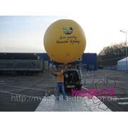 Рекламный воздушный шар фото