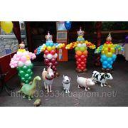 Украшение шарами, День рождения фотография