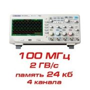 Цифровой осциллограф, 100 МГц, 4 канала фото