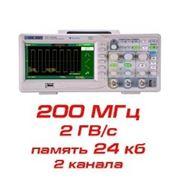 Цифровой осциллограф, 200 МГц, 2 канала фото