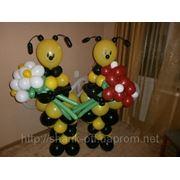 Оформление праздников пчелы из шаров фото