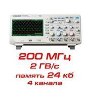 Цифровой осциллограф, 200 МГц, 4 канала фото