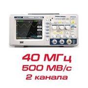 "Цифровой осциллограф ""SDS1042D"" (50 МГц, 2 канала) фото"