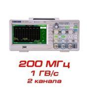 "Цифровой осциллограф ""SDS1202CFL"" (200 МГц, 2 канала) фото"