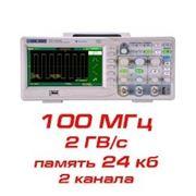 Цифровой осциллограф, 100 МГц, 2 канала фото