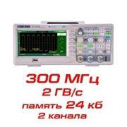 Цифровой осциллограф, 300 МГц, 2 канала фото