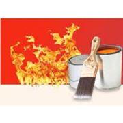 Огнезащита и огнезащитная обработка конструкций. фото