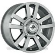 FONDMETAL 7700 Silver (R17 W8 PCD6x139.7 ET20 DIA106) фото