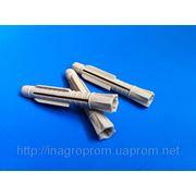 Дюбели 6х45mm универсальные узелковые, без бурта, трехстороннего распора, типа ЖГУТ фото
