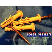 Дюбель WAVE 6х40 mm гриб быстрого монтажа с ударным шурупом - ISO 9001 фото