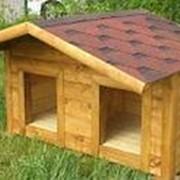 Будка собачья №46 (Размер 2-1-1 м) Утеплённая фото