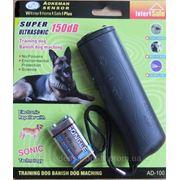 """Ультразвуковой отпугиватель собак AD-100 + есть функция """"тренер"""" и фонарик. фото"""