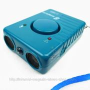 Ультразвуковой отпугиватель/ТЕЛОХРАНИТЕЛЬ собак с фонариком, сигнализацией и зарядным устройством фото