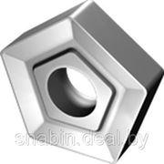 Пластина твердосплавная сменная 5-ти гранная 10114-110408 ВК8 фото