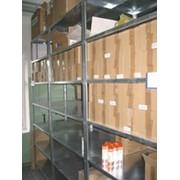 Проектирование, поставка и монтаж складских промышленных и бытовых стеллажных систем фото