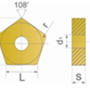 Сменные пластины для фрезерного инструмента PNEA фото
