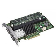 403-10234 Контроллер SAS Dell SAS PERC6/IR LSISAS1068 Int-2хSFF8484 (32-pin) 8xSAS/SATA RAID10 U300 PCI-E8x фото