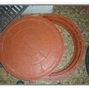 Люк канализационный полимерпесчанный фото