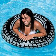 """Пляжный надувной круг Intex, 59252 """"Шина"""" (91 см)"""