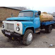 ГАЗ-53, молоковоз. фото