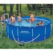 Каркасный бассейн «BestWay» 56088 полный комплект (366х122 см)