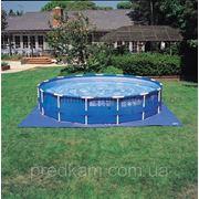 Подстилка под бассейн intex фото