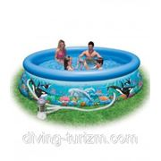 Надувной бассейн Intex Okean Reef Easy set 54906 фото